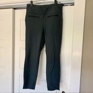 Athleta Stellar Crop Pant Grey Size M